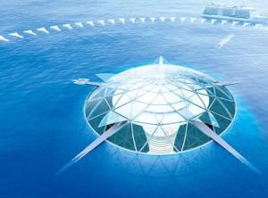 Ocean-Spirals-la-città-sommersa-a-sfere-che-si-chiamerà-Atlantis