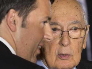 Napolitano dimissioni è scontro tra minoranza Pd e Renzi a rischio riforme