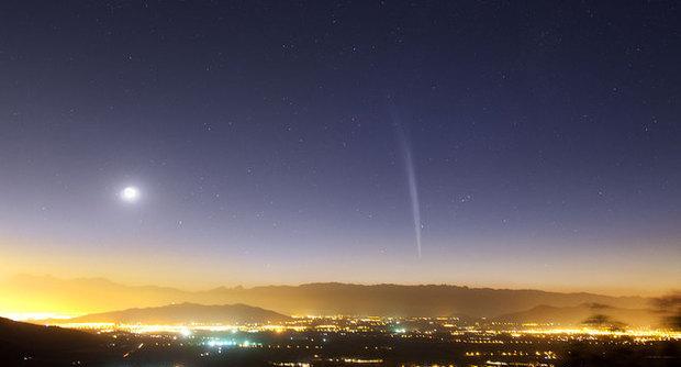 Cometa Lovejoy spettacolo a Natale, visibile a occhio nudo
