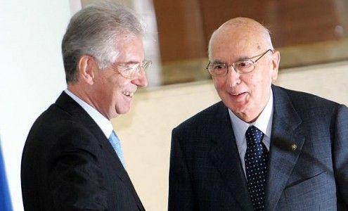 Quirinale, Napolitano fa le valigie, Monti nuovo presidente?