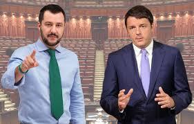Renzi-cala-fiducia-italiani-sotto-il-50%-Matteo-Salvini-su