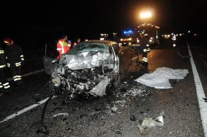 Salento, incidente sulla statale 275, tre vittime e due feriti