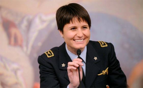 Samantha Cristoforetti il suo primo Natale nello spazio