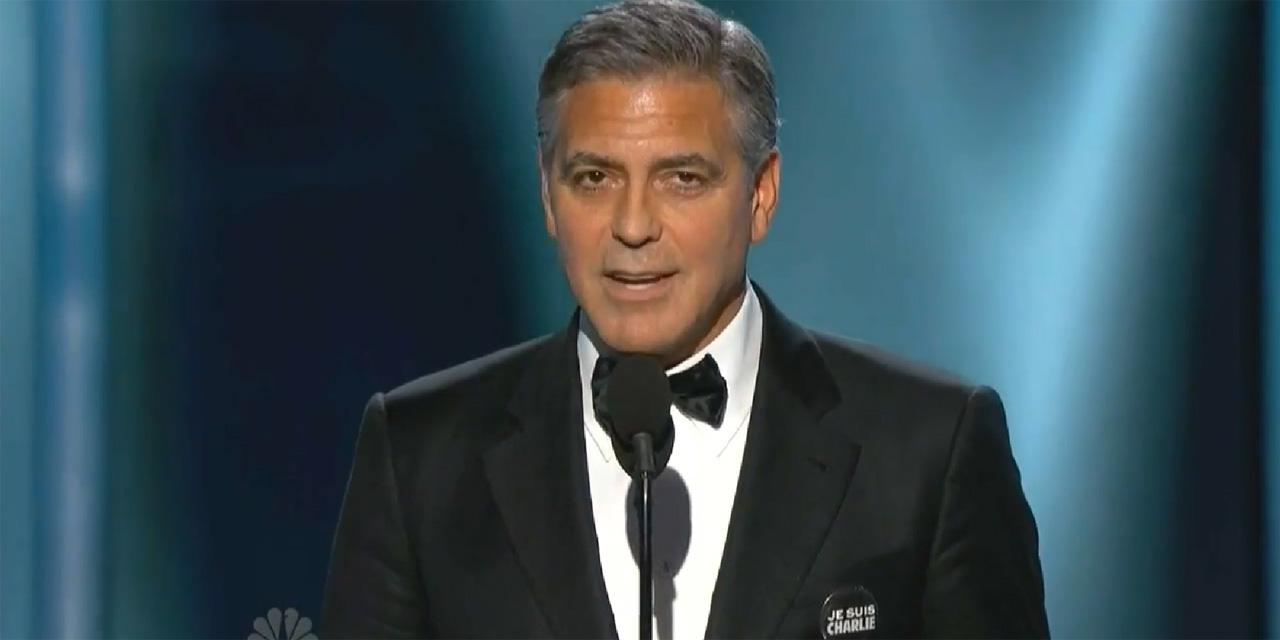Brutto incidente in moto per George Clooney. Ha sfondato un parabrezza con la testa