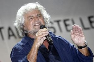 Grillo-attacca-dem-e-Renzi-elettore-tipo-Pd-broker-o-ex-banda-della-Magliana