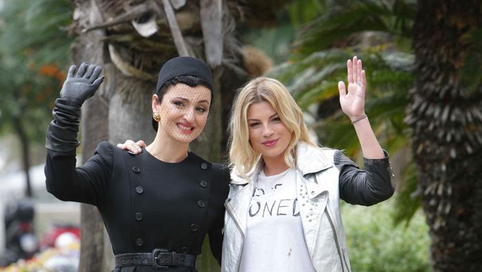 Emma e Arisa vallette in guerra a Sanremo