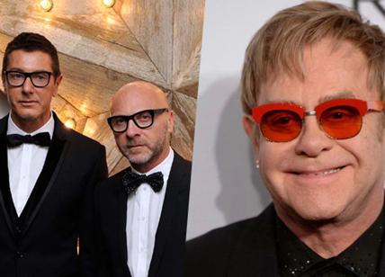 Dolce e Gabbana ancora polemiche con Elton John su adozione gay
