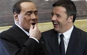 Renzi-sempre-leale-al-Patto-del-Nazareno-Berlusconi-no