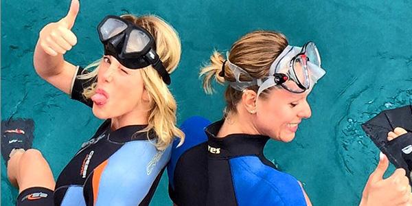 Alessia-Marcuzzi-su-Instagram-un-sogno-nuotare-con-la-Pellegrini