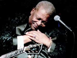 B.B. King il re del blues ricoverato in ospedale
