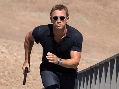 "Daniel Craig infortunio al ginocchio sul set di ""Spectre"""