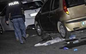 Roma-sparatoria-in-strada-a-San-Basilio-gambizzato-minorenne