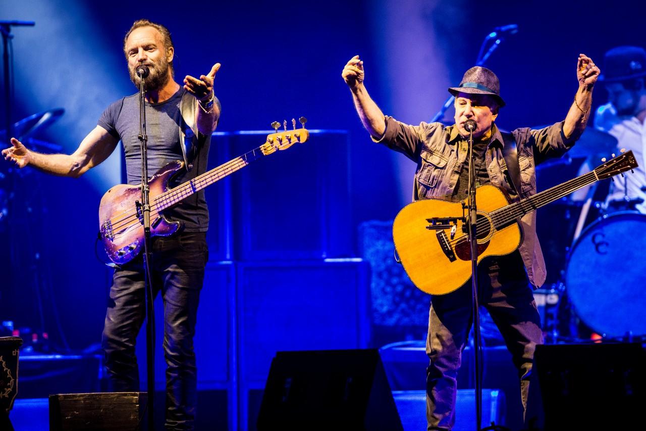 Sting e Paul Simon grandissimo concerto a Milano