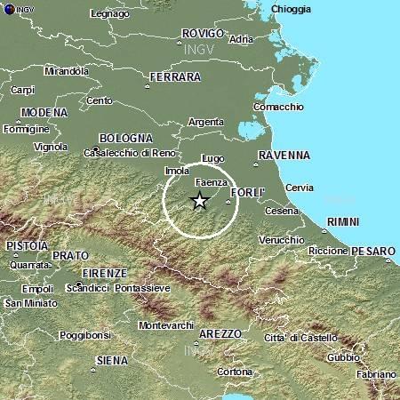 Terremoto Emilia forte scossa a Forlì e Faenza