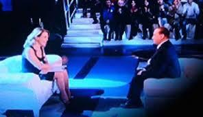 Berlusconi alla D'Urso, sei l'unica che non c'è stata