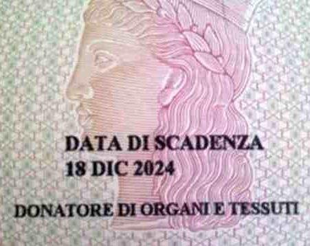 Donazione Organi la volontà espressa sulla Carta d'Identità