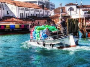 Venezia-i-suoi-canali-sono-un-mare-di-bottiglie-di-plastica