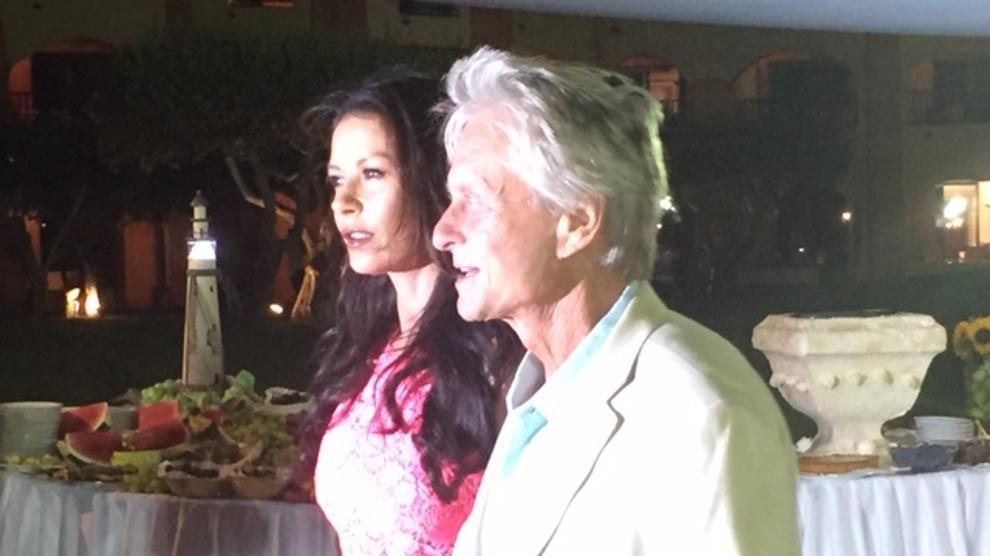 Costa Smeralda, Zeta-Jones e Michael Douglas ospiti al Billionaire