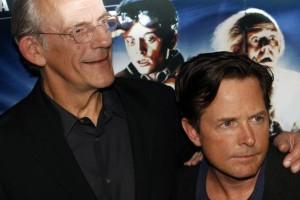 Ritorno-al-futuro-Michael-J-Fox-con-Doc-e-Lorraine-30-anni-dopo
