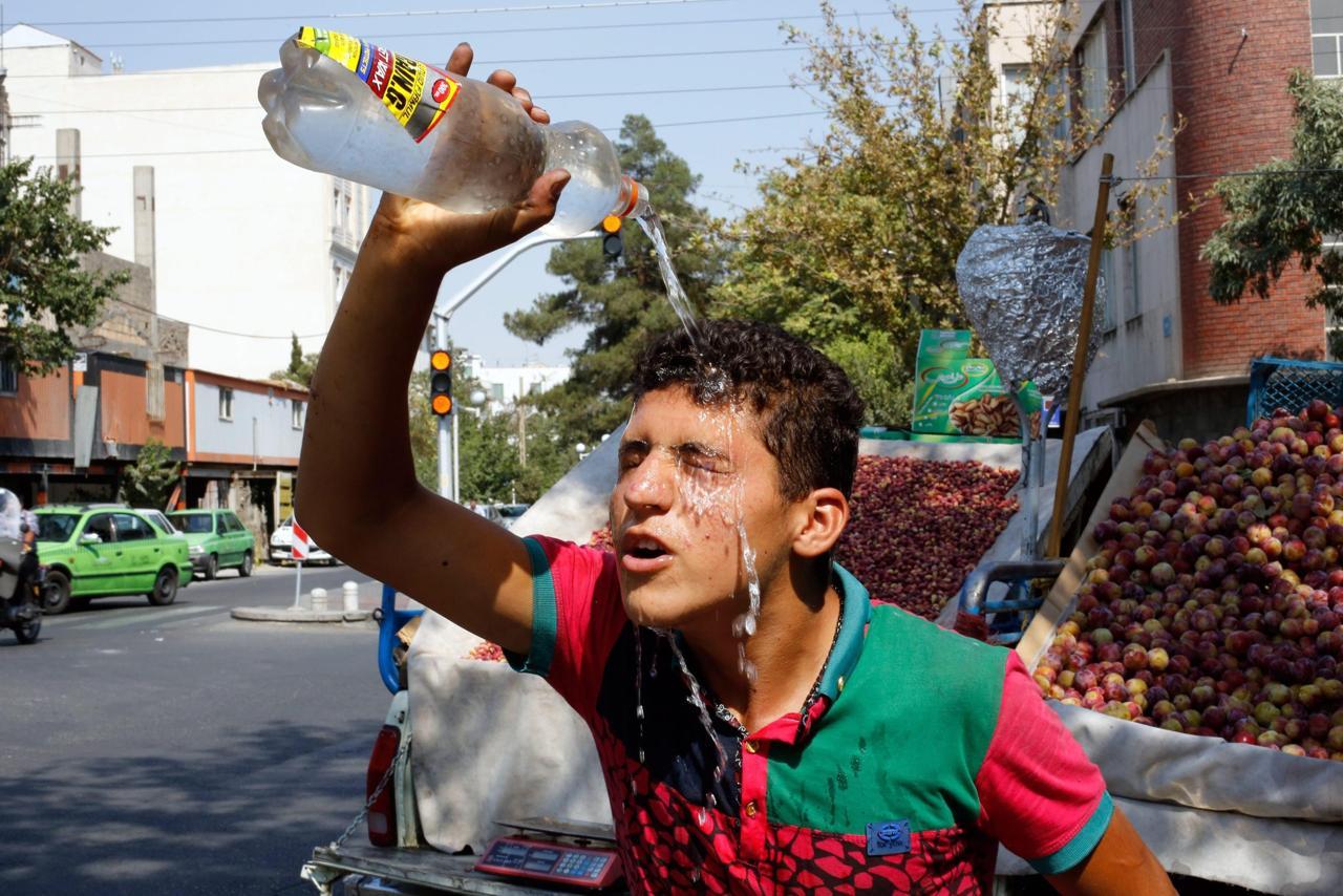 Iran caldo record temperatura percepita pi 70 gradi for Cucinare a 70 gradi
