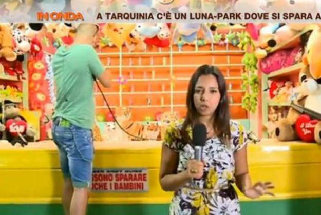 Sara Giudice giornalista de La7 racconta l'aggressione a Tarquinia