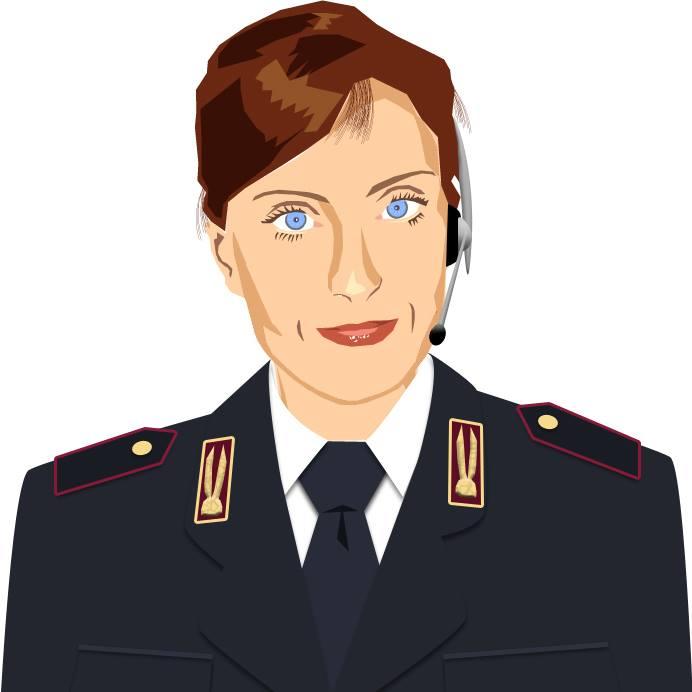 Agente Lisa, la pagina Facebook della polizia ha molti like