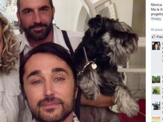 Scialpi-nozze-a-New-York-con-il-suo-compagno-Roberto-Blasi