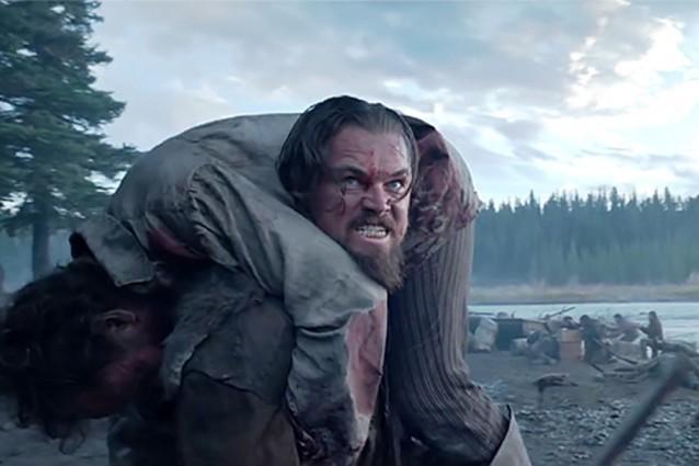 Leonardo-Di-Caprio-vegetariano-in-Revenant-mangia-il-fegato-del-bisonte
