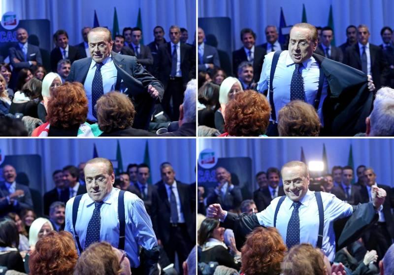 Berlusconi spogliarello per una fan, sono innamorata del suo cervello
