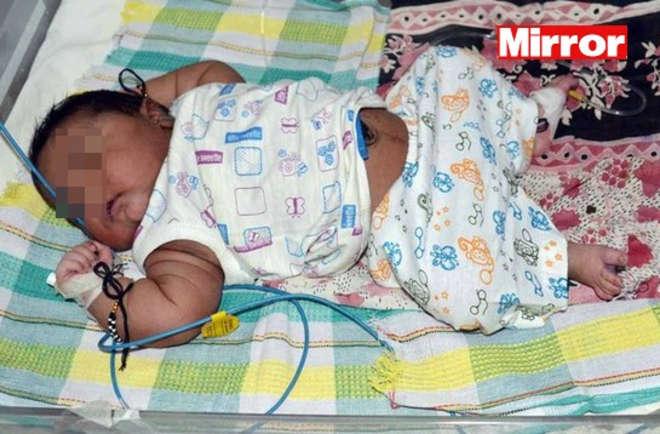 Mamma-dà-alla-luce-bambino-gigante-è-il-più-pesante-dell-India