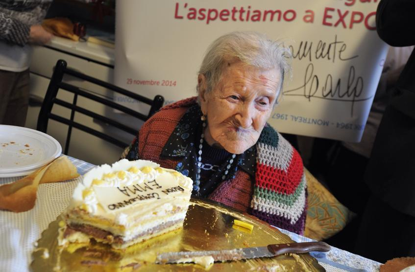 Emma Morano ha compiuto 116 anni è l'italiana più longeva di sempre