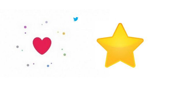 Su Twitter i cuoricini al posto delle stelline, gli utenti però dicono di no