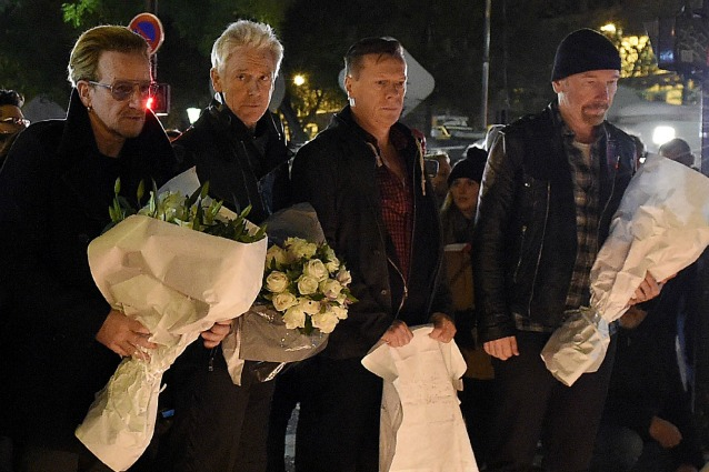 U2 in concerto a Parigi il 6 e 7 dicembre per onorare la città