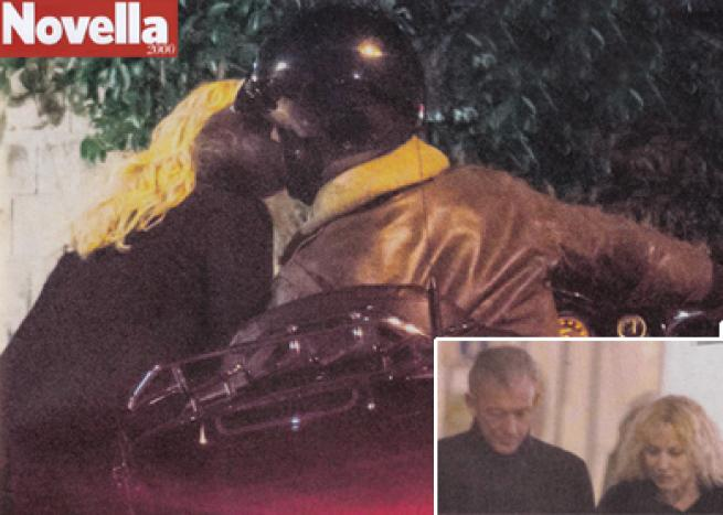Adolfo Panfili: il primo bacio con Antonella Clerici