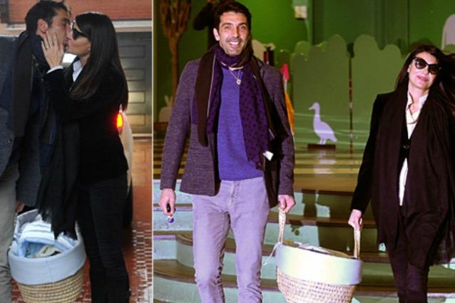 Ilaria-d-Amico-e-Gigi-Buffon-insieme-al-piccolo-Leopoldo-Mattia-ecco-la-foto
