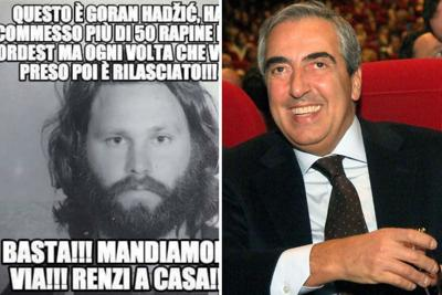 Maurizio Gasparri gaffe su Jim Morrison lo scambia per un rapinatore slavo