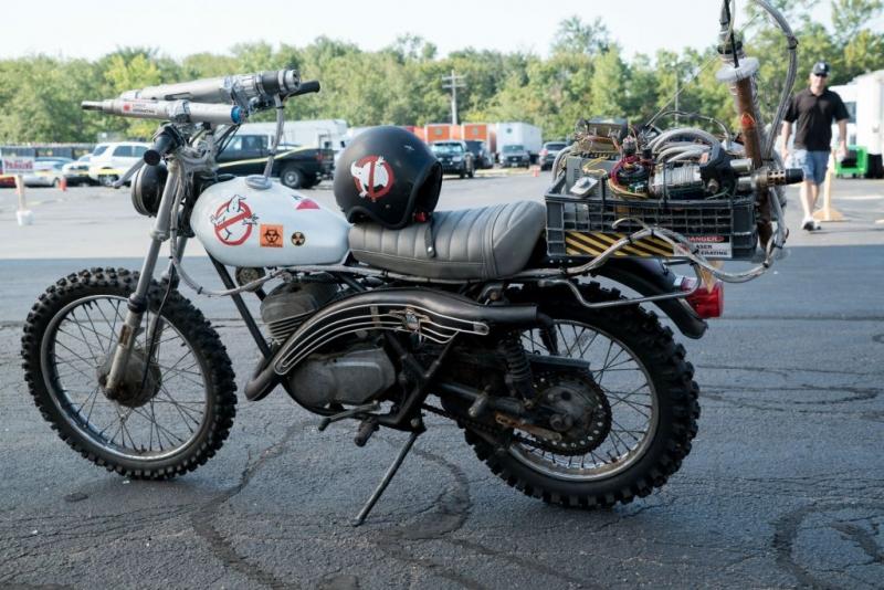 Ghostbuster 3 ecco la fantastica moto delle quattro acchiappafantasmi