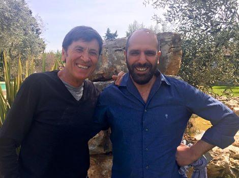 Gianni Morandi selfie con Luca Medici, un grande orgoglio barese