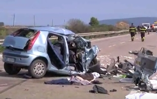 Gargano, da Suv si sgancia carrello che travolge auto, muore bimba di 8 anni
