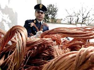 Calabria-arresti-per-furto-riciclaggio-e-ricettazione-cavi-di-rame