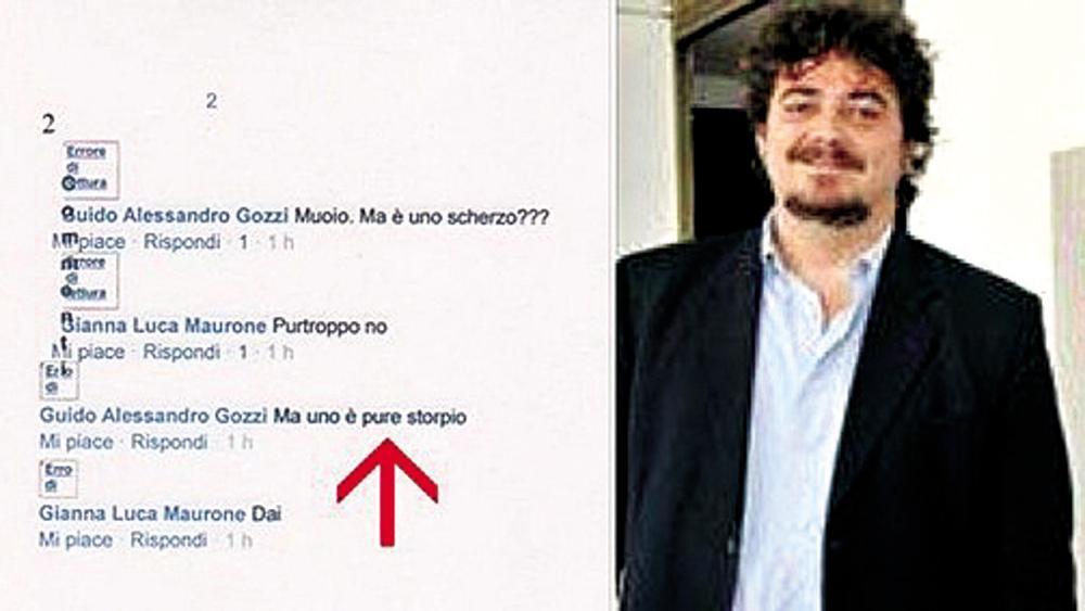 Torino, dirigente del Pd nella bufera da dello storpio a un candidato disabile