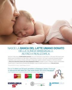 Milano, nasce Banca del latte materno che la salva la vita ai bimbi prematuri