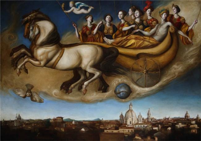 Conversano, grande successo mostra al castello del pittore Giovanni Tommasi Ferroni