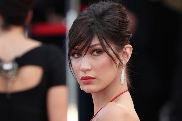 Bella Hadid la modella è la più scandalosa sul red carpet di Cannes
