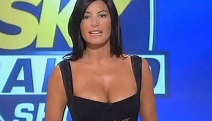 Ilaria D'Amico torna in tv condurrà su Sky le partite del suo Buffon