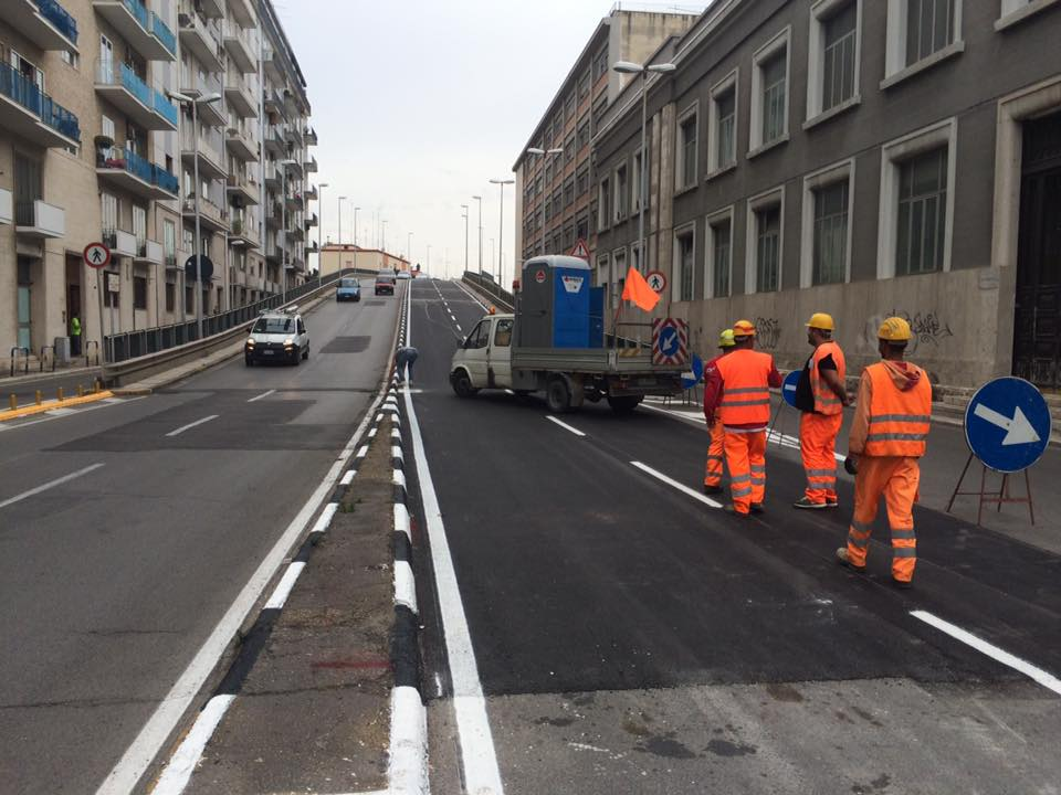 Bari, ponte Garibaldi  su Via di Vagno nuovi disagi, riapre il senso verso Japigia ma chiude quello verso lungomare