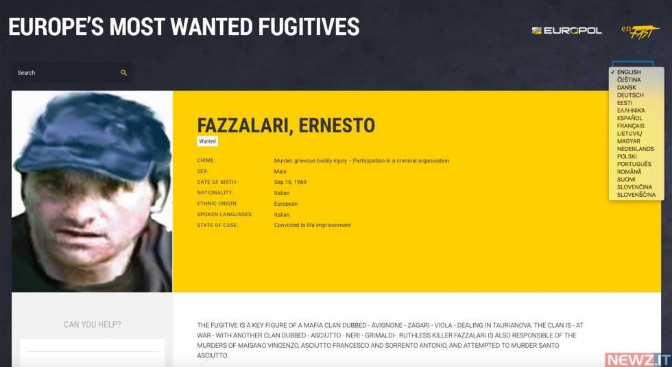 Arrestato il boss Ernesto Fazzalari latitante da 20 anni,  il secondo uomo più pericoloso d'Italia