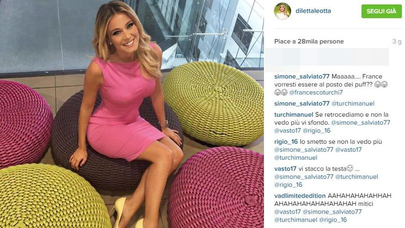 Diletta Leotta con le sue forme sbaraglia tutti, è più popolare anche di Belen Rodriguez