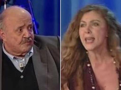 Eleonora Brigliadori e Maurizio Costanzo lite in Tv, lei furiosa lascia lo studio