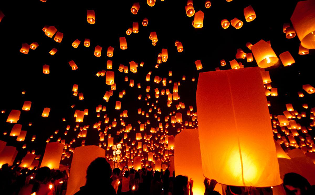 Festa delle luci, il 25 giugno la città di Bari sarà illuminata da tantissime bellissime lanterne cinesi